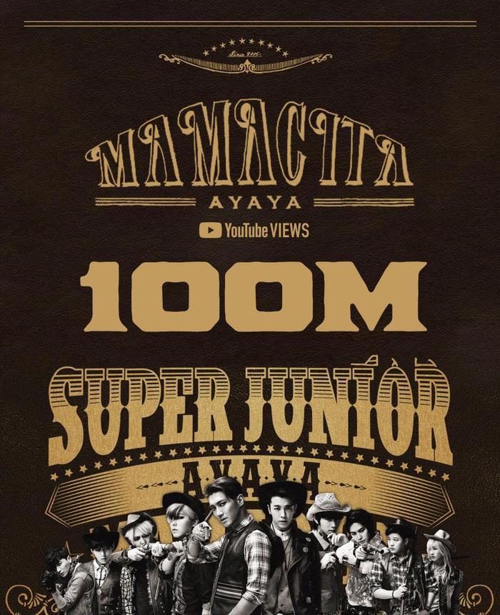 Mamacita của Super Junior cán mốc 100 triệu views, fan 'mừng rớt nước mắt' Ảnh 1