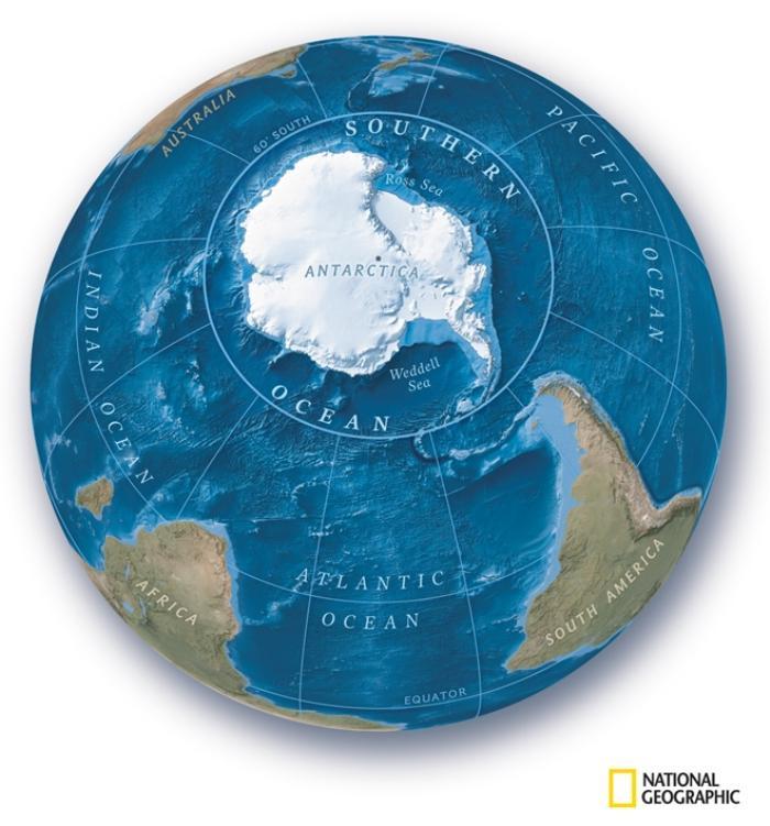 Trái đất chính thức có thêm đại dương thứ 5 Ảnh 1