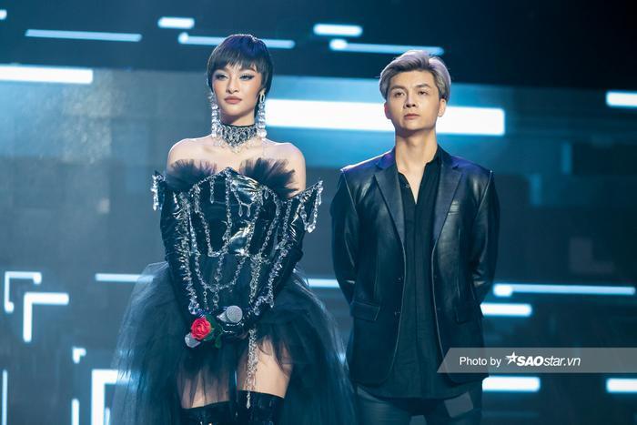 Hát hit của Binz, Lona Kiều Loan khiến Khắc Hưng thốt lên: 'Anh không nghĩ em là Hoa hậu' Ảnh 2