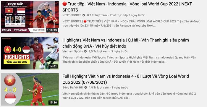 Đội tuyển Việt Nam 'càn quét' Top Trending YouTube, người hâm mộ phấn khích đợi trận đấu với Malaysia Ảnh 2