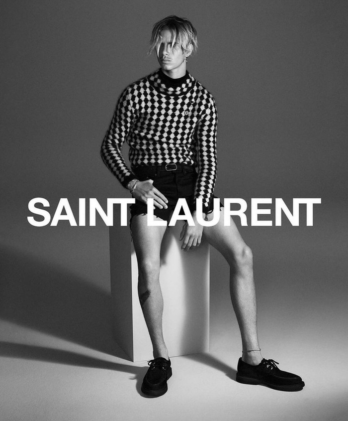 Romeo Beckham là gương mặt đại diện mới của Saint Laurent Ảnh 4