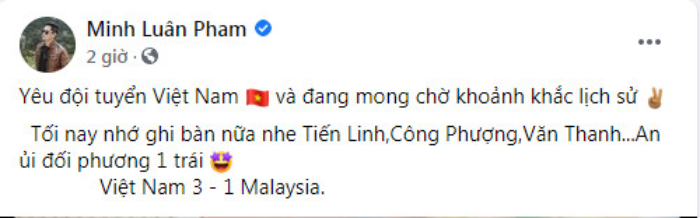 Trước giờ G, dàn sao Việt trổ tài dự đoán tỉ số trận Việt Nam - Malaysia Ảnh 3