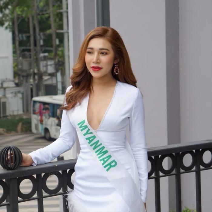Cả gia đình khóc nghẹn, hơn 60.000 người dõi theo tang lễ Hoa hậu Chuyển giới Myanmar Ảnh 4