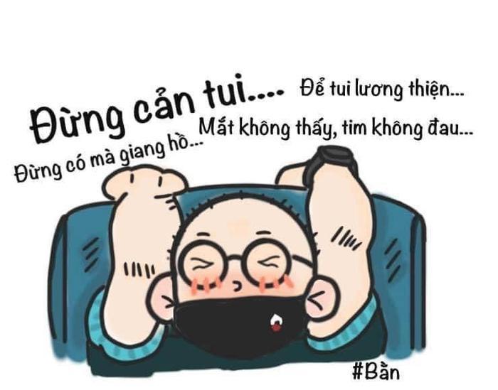 HLV Park Hang Seo lấp ló trong trận đấu với Malaysia, netizen ngay lập tức chế ảnh thầy Park đủ sắc thái Ảnh 4