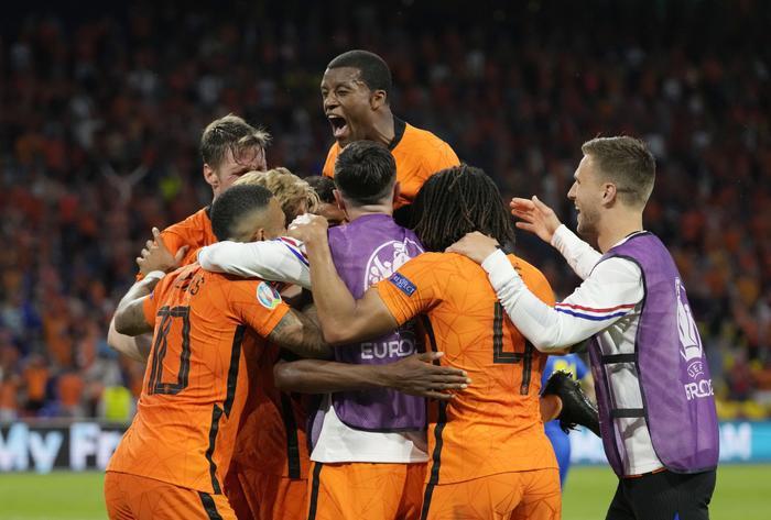 Trận thắng siêu kịch tính của Hà Lan trước Ukraine Ảnh 1