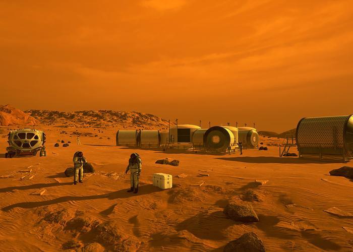Phát hiện mới cho thấy con người có thể sản sinh trên sao Hỏa Ảnh 2