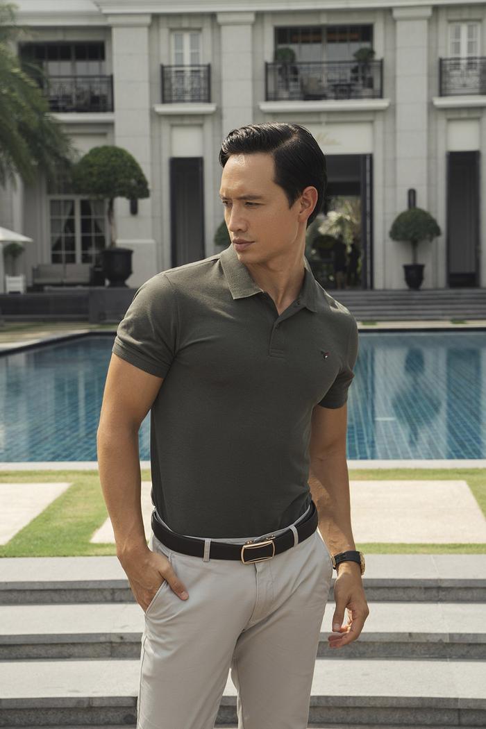 Kim Lý quả là ông bố hot số 1 Vbiz, 2 con mặc đơn giản mà vẫn lịch lãm siêu cấp Ảnh 3