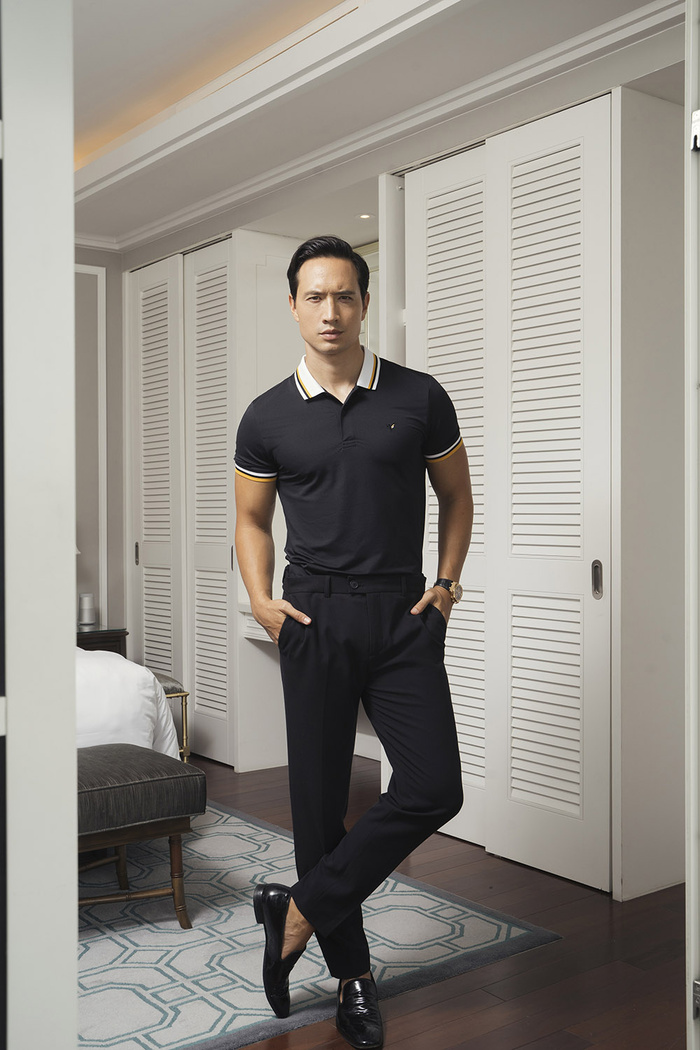 Kim Lý quả là ông bố hot số 1 Vbiz, 2 con mặc đơn giản mà vẫn lịch lãm siêu cấp Ảnh 6