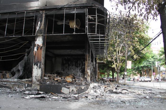 Vụ cháy phòng trà khiến 6 người tử vong: Hé lộ nguyên nhân hỏa hoạn Ảnh 3