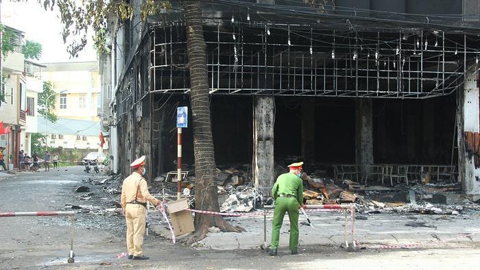 Vụ cháy phòng trà khiến 6 người tử vong: Hé lộ nguyên nhân hỏa hoạn Ảnh 1