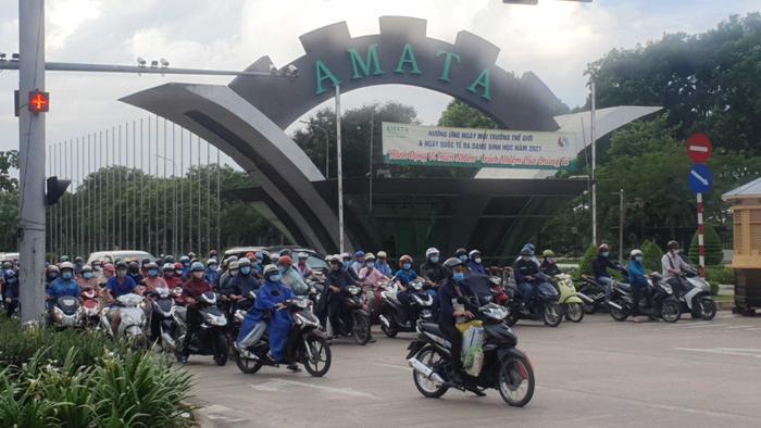 Trường hợp F1 ở TP.HCM làm việc tại khu công nghiệp AMATA Đồng Nai nghi nhiễm COVID-19 Ảnh 1