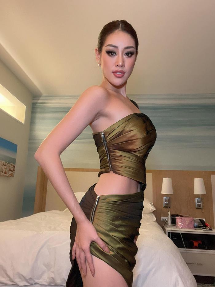 Sau 1 tháng intop - Khánh Vân tiếc nuối vì không có cơ hội diện thiết kế xịn xò này tại Miss Universe Ảnh 5