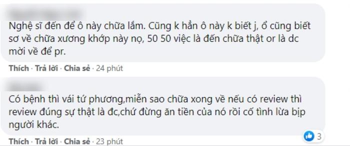Lộ clip Phan Đinh Tùng từng chữa bệnh chỗ ông Võ Hoàng Yên, còn khen cách chữa bệnh khiến fan tranh cãi Ảnh 4