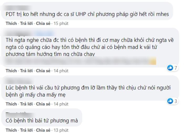 Lộ clip Phan Đinh Tùng từng chữa bệnh chỗ ông Võ Hoàng Yên, còn khen cách chữa bệnh khiến fan tranh cãi Ảnh 5