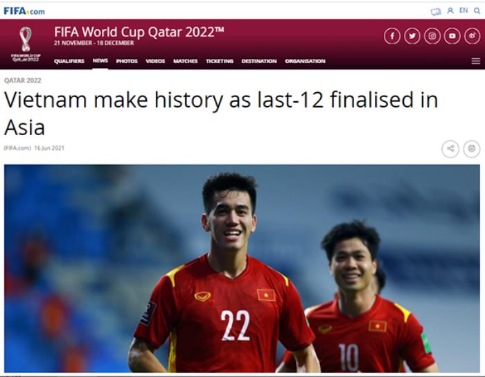 FIFA: 'Tuyển Việt Nam mang đến sự bất ngờ lớn nhất' Ảnh 1