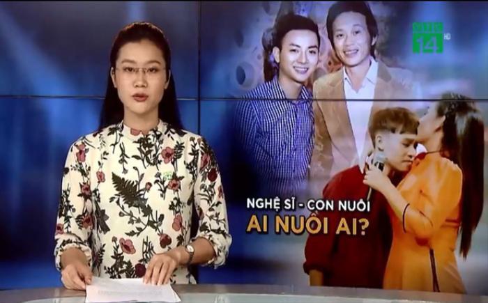 Hoài Linh và Phi Nhung lên sóng truyền hình VTC14 với chủ đề 'Nghệ sĩ và con nuôi: Ai nuôi ai?' Ảnh 1