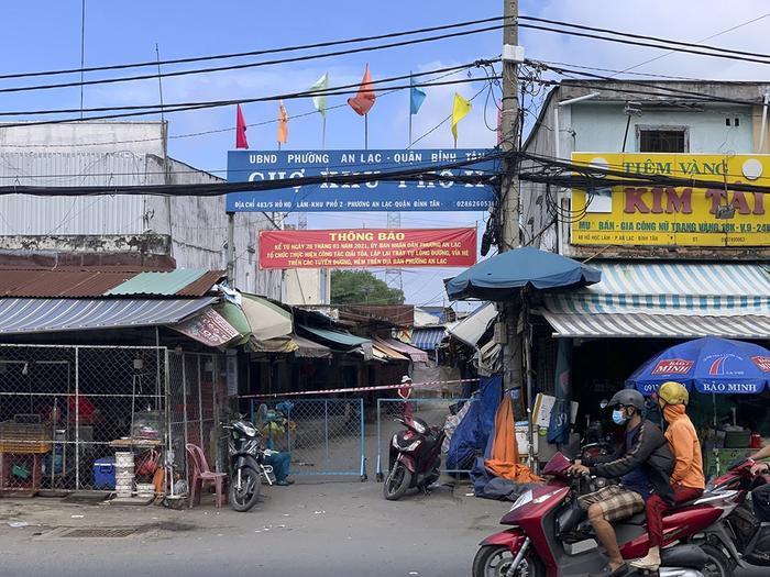 TP.HCM: Từ 1 ca chỉ điểm, phát hiện 35 người nhiễm COVID-19 liên quan chợ khu phố 2 quận Bình Tân Ảnh 1