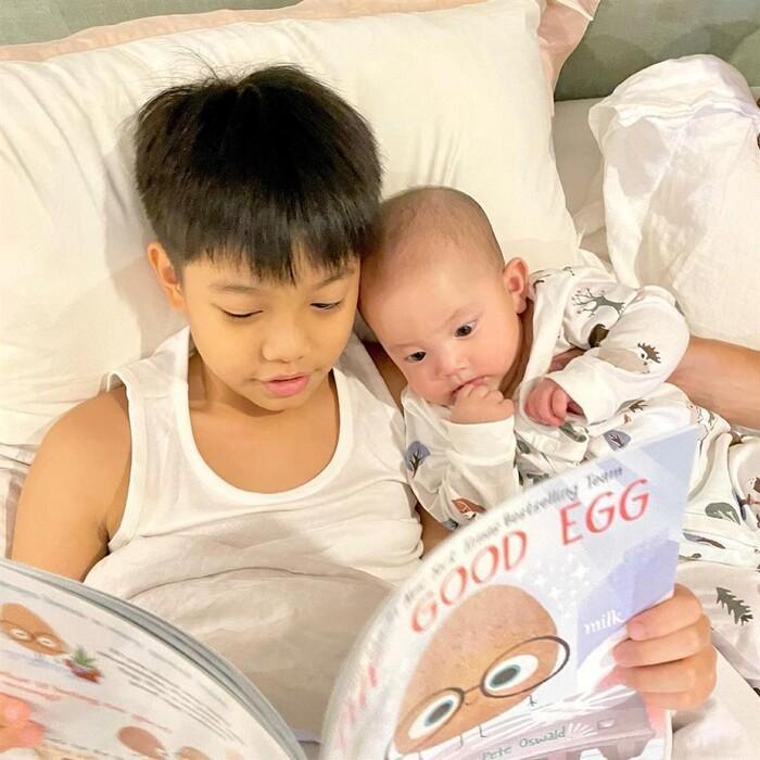 Hồ Ngọc Hà tiết lộ cách đối xử của con trai Subeo với hai em Lisa - Leon Ảnh 5