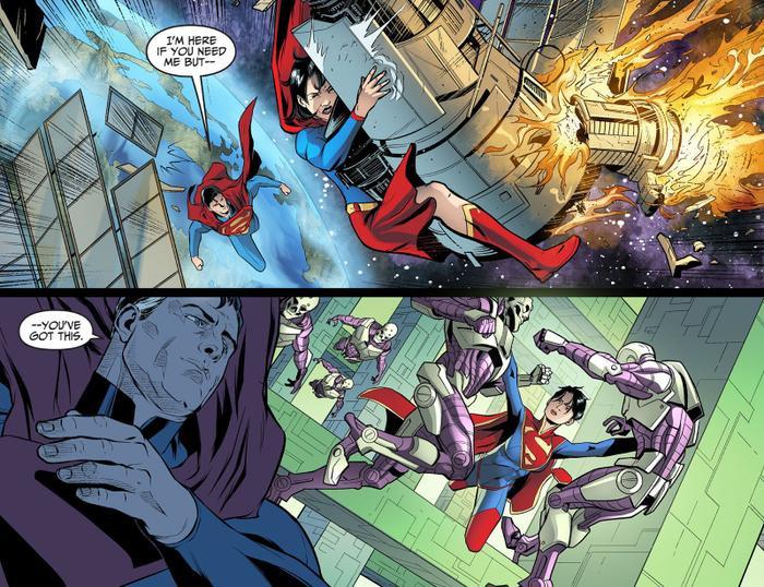 Ảnh hậu trường 'The Flash' bị lộ: Supergirl là con gái của Superman? Ảnh 8
