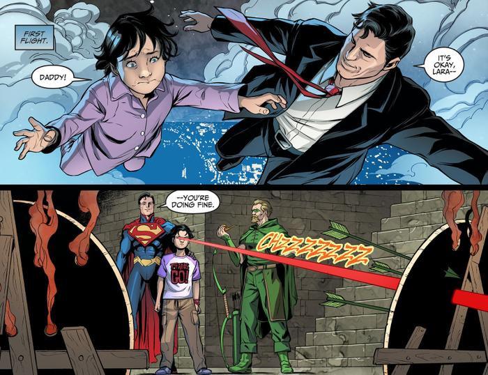 Ảnh hậu trường 'The Flash' bị lộ: Supergirl là con gái của Superman? Ảnh 7