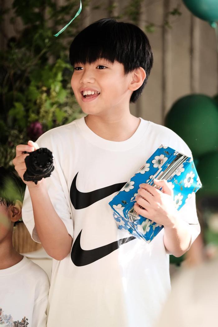 Đàm Thu Trang chuẩn bị sinh nhật cho Subeo: Suchin tuy còn bé nhưng góp sức lớn? Ảnh 5