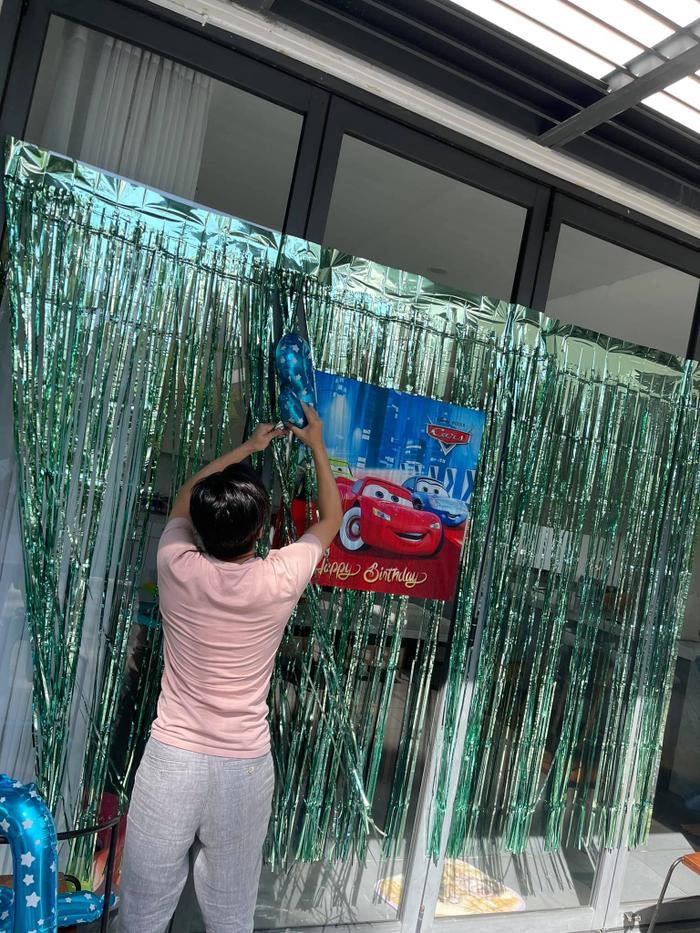 Đàm Thu Trang chuẩn bị sinh nhật cho Subeo: Suchin tuy còn bé nhưng góp sức lớn? Ảnh 3