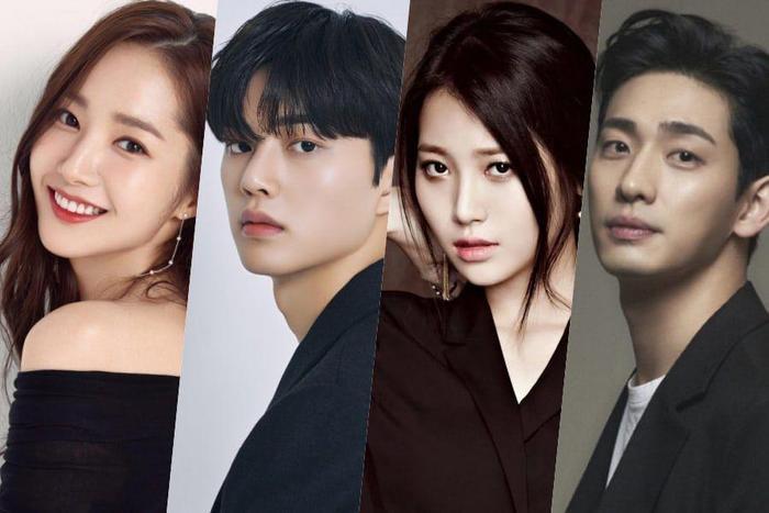 Song Kang có IQ 150 nhưng chưa chắc đã 'cưa đổ' Park Min Young trong phim 'Cruel Story Of Office Romance' Ảnh 1