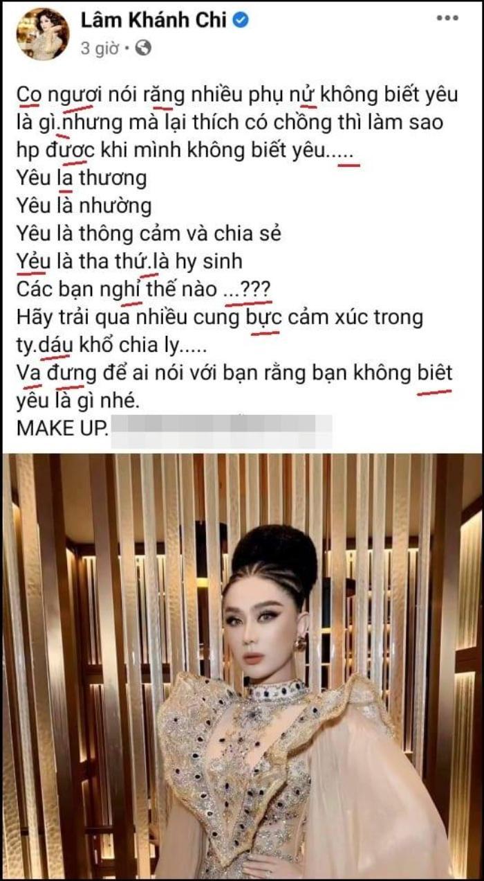 Chia sẻ trạng thái tình yêu đầy triết lí, Lâm Khánh Chi bị 'cảnh sát chính tả' bắt lỗi không thương tiếc Ảnh 5