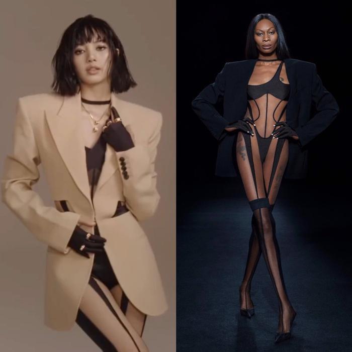 Full toàn tập bộ ảnh thời trang đẹp lồng lộn của Lisa BlackPink trên tạp chí Vogue Ảnh 7