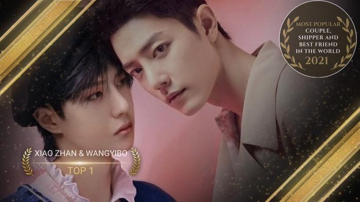 Top 24 cặp đôi đẹp nhất thế giới 2021: Tiêu Chiến - Vương Nhất Bác 'hạ gục' V - Jungkook và Bright - Win! Ảnh 24