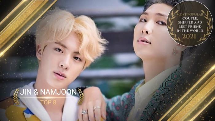 Top 24 cặp đôi đẹp nhất thế giới 2021: Tiêu Chiến - Vương Nhất Bác 'hạ gục' V - Jungkook và Bright - Win! Ảnh 17