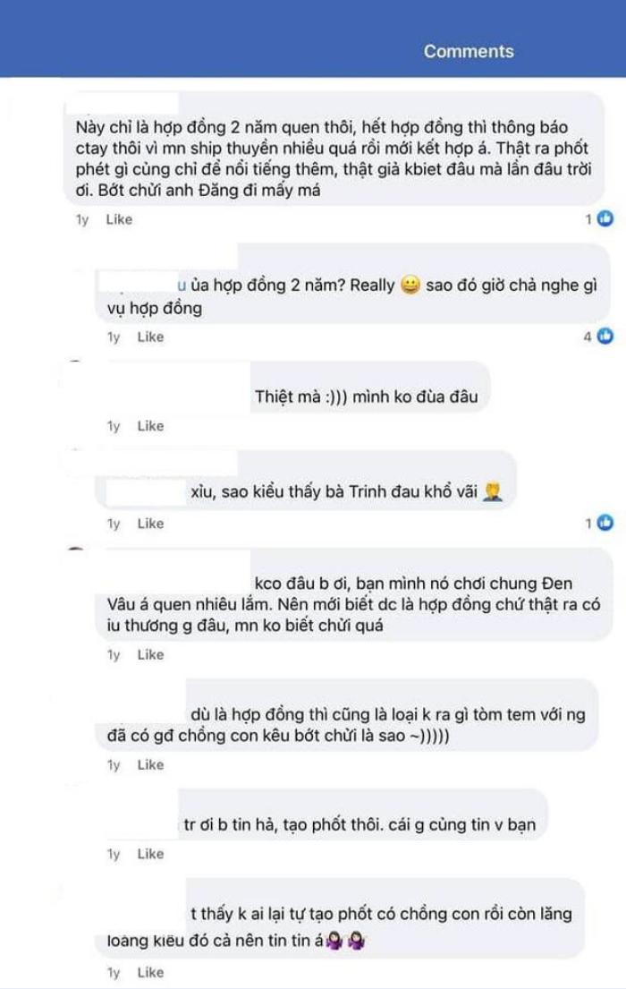 Thái Trinh bức xúc vì bị anti-fan thêu dệt chuyện 'hợp đồng tình yêu' Ảnh 2