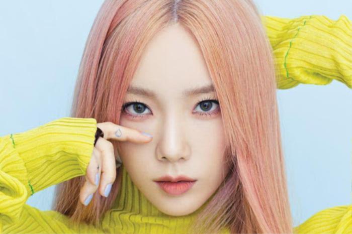 Từng tuyên bố không thích màu hồng, Taeyeon (SNSD) bỗng 'quay xe' bê lên poster xác nhận ngày comeback Ảnh 2