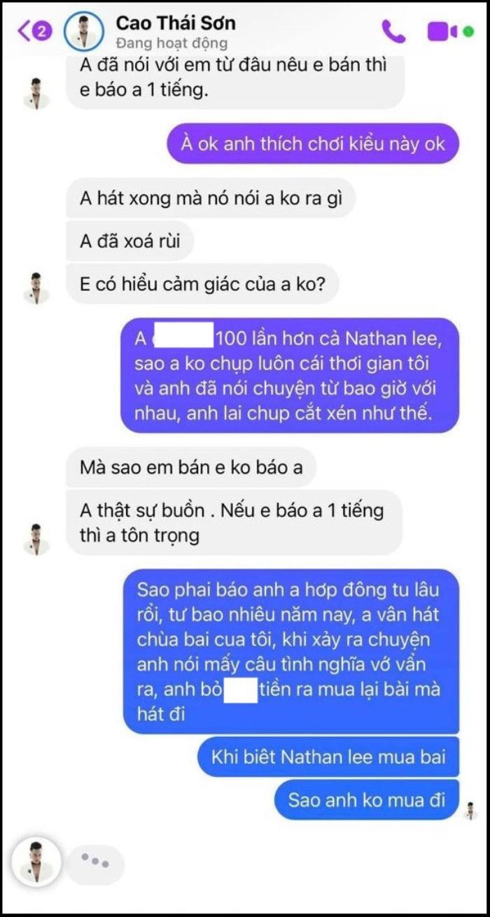 Khắc Việt tố Cao Thái Sơn sống giả tạo, 'hát chùa' ca khúc của mình nhiều năm Ảnh 6