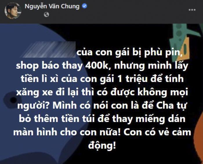 Nguyễn Văn Chung để lộ chi tiết con gái là fan ruột của Jack