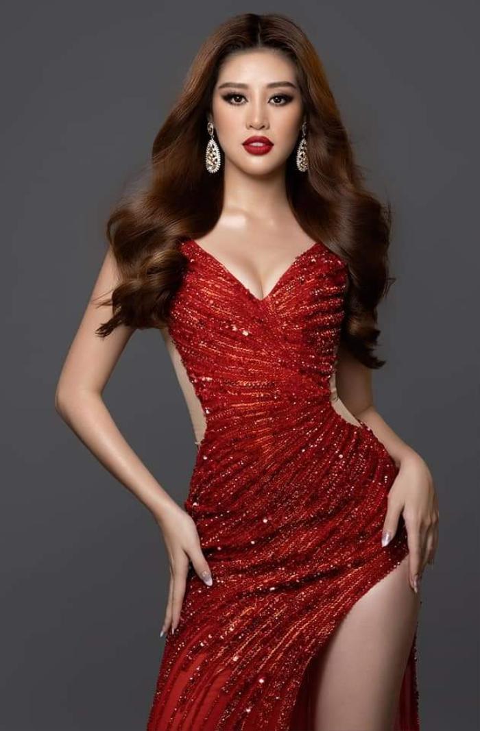 Miss Earth Cuba bị NTK Việt tố mặc đầm nhái anh làm cho Khánh Vân Ảnh 6