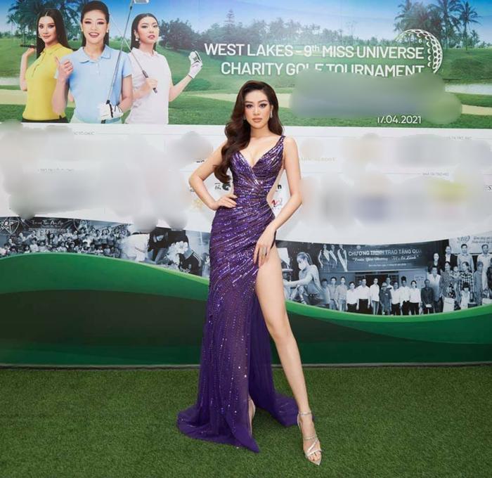 Miss Earth Cuba bị NTK Việt tố mặc đầm nhái anh làm cho Khánh Vân Ảnh 7