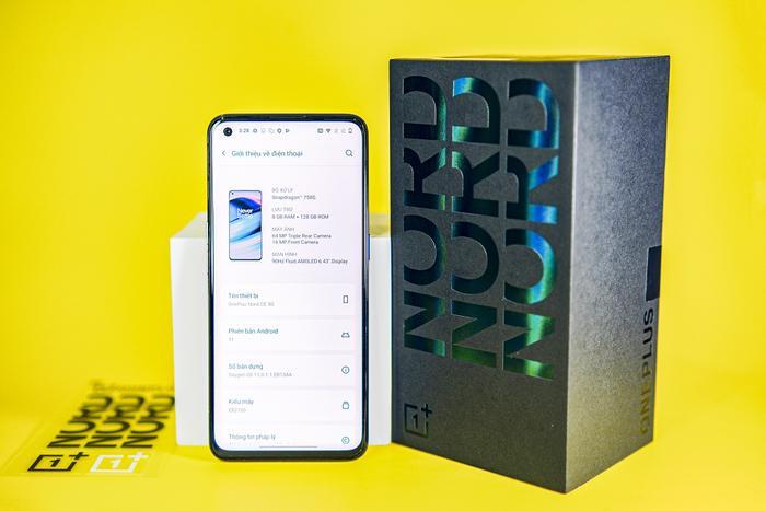 Mở hộp OnePlus Nord CE 5G: Smartphone giá mềm với kết nối 5G, sạc nhanh 30W Ảnh 8