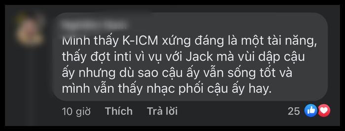 Được khen giống Sơn Tùng, K-ICM thích thú trả lời nhưng vẫn 'cà khịa' Jack cố mãi không bằng đàn anh? Ảnh 4