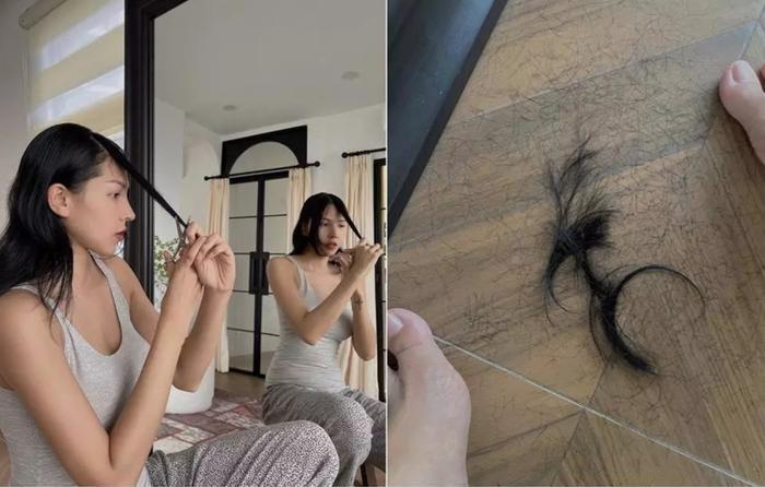 Sao Việt tự 'vung kéo' cắt tóc mùa dịch, người đẹp siêu cấp, kẻ lại trông... sai sai Ảnh 2