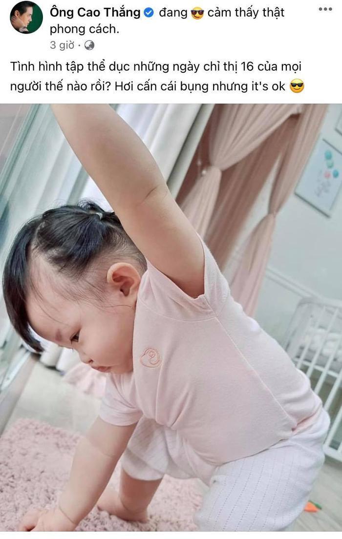 Đông Nhi 'rủ rê' Ông Cao Thắng dìm hàng con, nhưng netizen toàn bình luận khen bé Winnie vì lí do này Ảnh 1