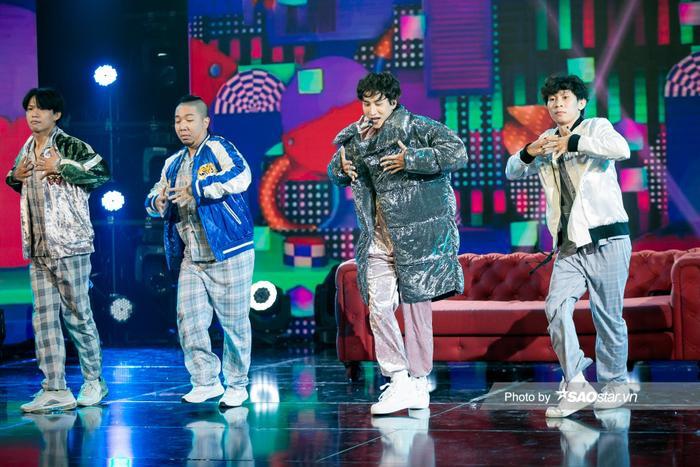 VP Bá Vương trang phục hầm hố, Ali Hoàng Dương 'lãng tử' với style disco tại The Heroes Ảnh 3