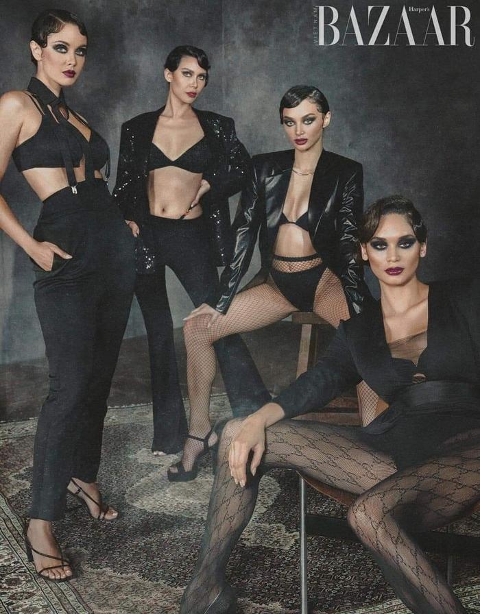 4 đại hoa hậu Philippines khiến fan bấn loạn khi khoe dáng ướt át nóng bỏng trong một khung hình Ảnh 4