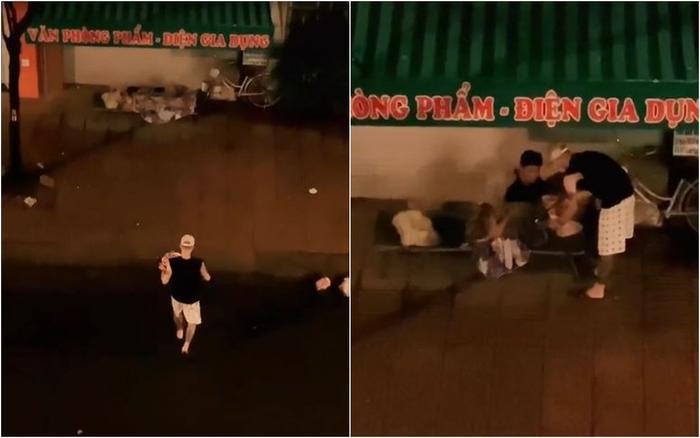 Trời mưa như trút nước, nam thanh niên tự tay nấu mì, mang tận nơi cho 2 bà cháu vô gia cư gây xúc động