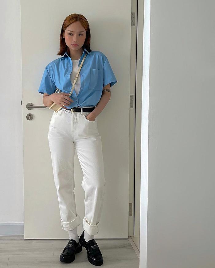 Chi Pu diện bikini Barbie siêu tinh nghịch, Linh Ka gây sốt với vòng 1 'tràn viền' Ảnh 8