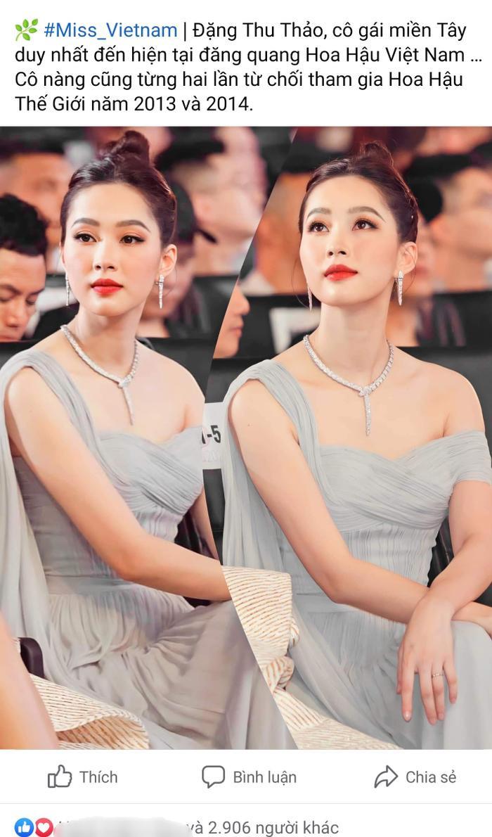 Hai lần từ chối đại diện Việt Nam thi quốc tế, Hoa hậu Thu Thảo bất ngờ bị tố: 'vô trách nhiệm' Ảnh 1