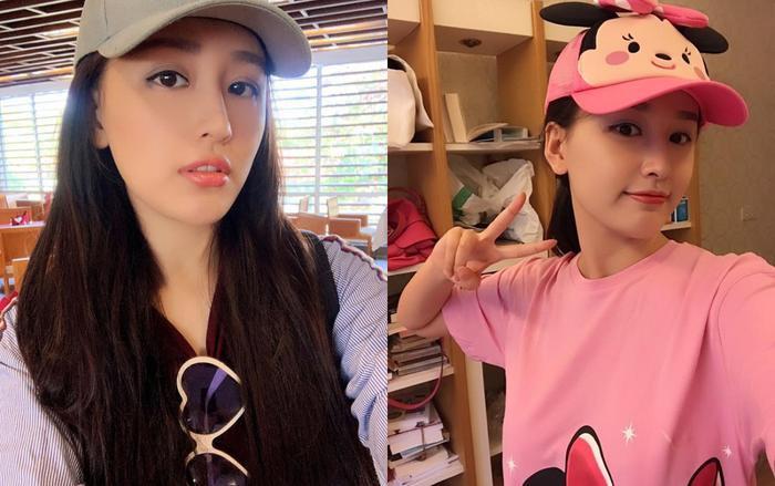 Hoa hậu Mai Phương Thúy up ảnh thời 'trẻ trâu' mặc áo rộng, đội mũ snapback Ảnh 3