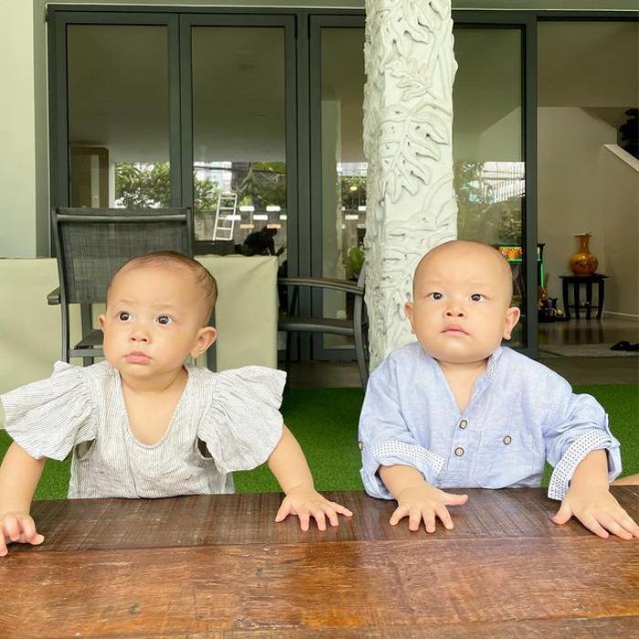 'Thầy giáo' Kim Lý bị mẹ Hà Hồ 'phê bình' vì dạy con học buổi sáng: Dạy hơi to tiếng? Ảnh 3