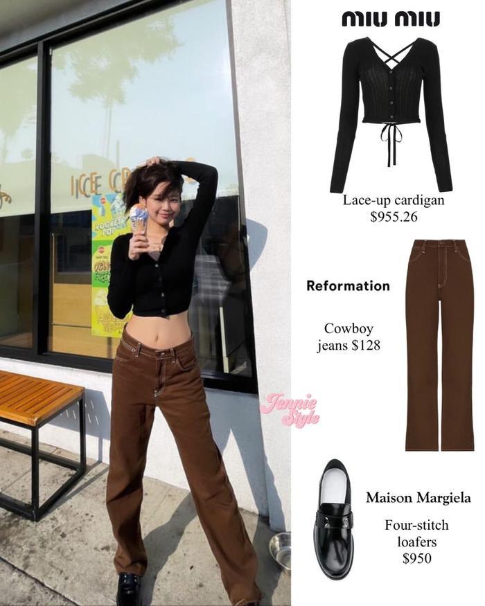 Từ ngày qua Mỹ làm việc, Jennie Black Pink liên tục 'ăn mặc' hở hang cực sành điệu Ảnh 6