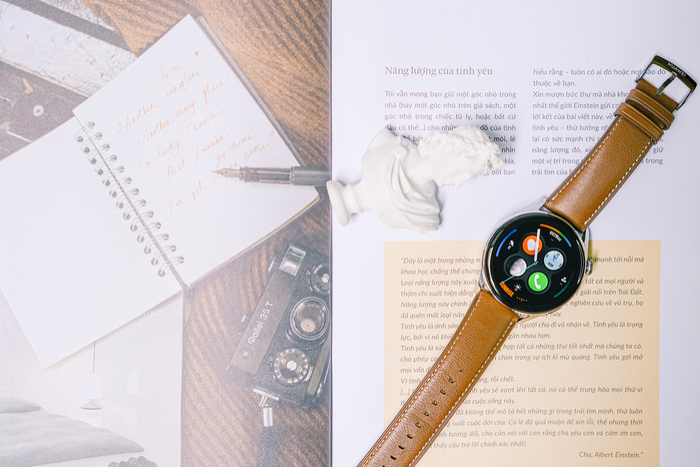 'Đập hộp' và trải nghiệm nhanh Huawei Watch 3: Thiết kế bóng bẩy, nhiều tính năng hay ho Ảnh 8